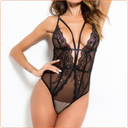 New Fashion Topless One-piece Deep V Neck Lingeries