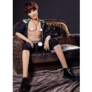 2020 Sexshop Silicone Real Love Gay Sex Toys Lifelike Dolls Oral Anal Male Handsome Big Penis Man Sex Doll For Women