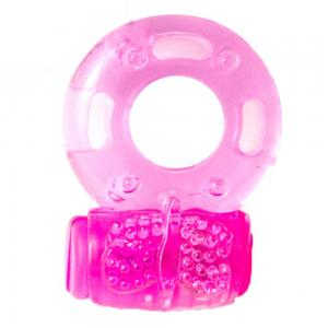 Silicone Rubber Male Products Strong Vibration Delay Ejaculation Cock Ring For Men