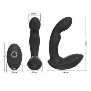 High Quality Wireless Remote Control  sex toys pussy men Anal Plug Vibrator  For Male