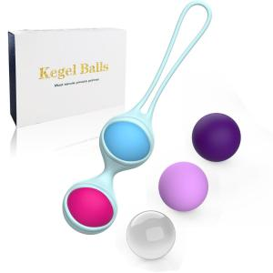 100% Waterproof Full Silicone Smart Love Ball Women Sexy Vagina Adult Pelvic Exerciser Sex Toys Kegel  For Tightening