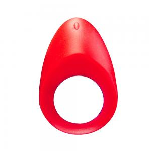 USB Rechargeable 6 Frequency Vibration Silicon Custom Magnetic Cock Ring
