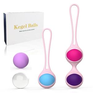 Safe Silicone Postpartum Recovery Vaginal Tighten Exercise balls Female Waterproof Adult Sex Toy Kegel Ball For Women