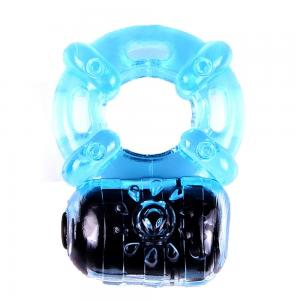 5 Multi-speed Vibration Penis Rubber Cock Ring