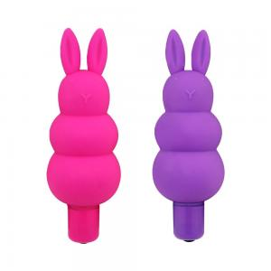 Female Medical Silicone 7 Vibration Modes Sex Toys Fat Rabbit Head Vibrator