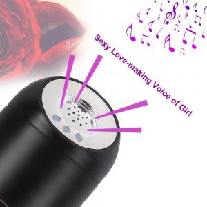 NEW ARRIVAL HOT  Sex Toys Squeezable Vibrating Mas