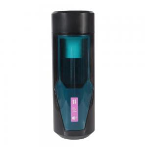 Sucking Electronic Massage Pocket Pussy Stroker Cup,Male Strong Sucking Vibrating Toys