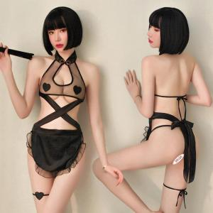 2020 Manufacturer Price Sexy Uniform Women Hot Erotic Bodysuit Sexy Lingerie F