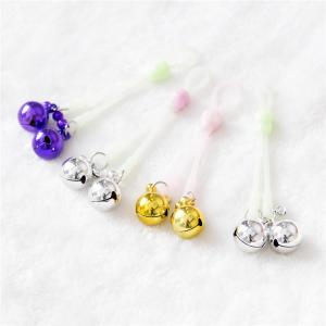 OEM luminous nipple clamps toys/glown nipple clamps with different col