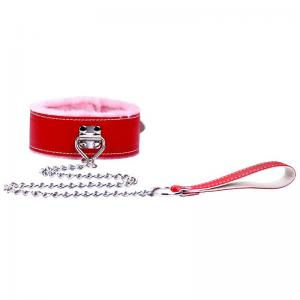 Manufacturer Thickened Plush Leather Collar Adult Products for Teach