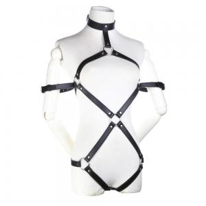 Faux Leather Sex Toys Body Harness Women Sexy BDSM Fetish Wear Bondage For Women Erotic Leather Acc