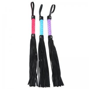 OEM & ODM Tassel Leather Floggers SexWhips f