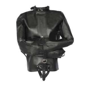 Women Leather Bondage Black Leather Women Clothes For