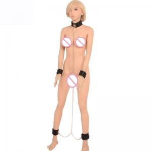 BDSM Adult Products Leather Body Harness Bondage for Female Co