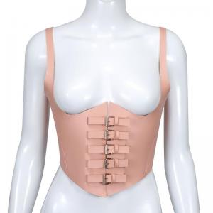 Sexy Pink Body Harness BDSM Chest Bondage Harness and Erotic Lingerie Belts Adjustable Strappy Top Caged Bras Sex Toy F