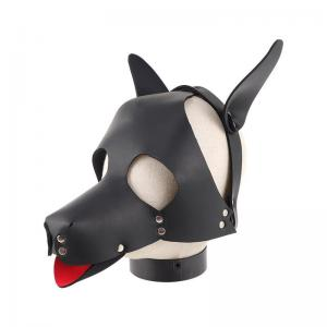 Erotic Accessories Pet Play BDSM Sex Toys Bondage Dog Fetish Eye Mask Dog Fetish Slave SM Play Hood Leather