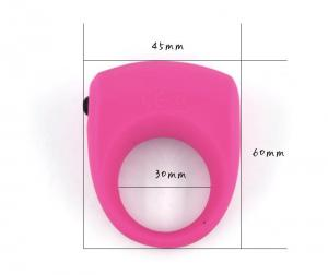 Silicone Locking Ring For Men's Vibrating Ring Penis Time-Delay Ring Adult
