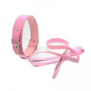 Adjustable Leather Collar for Female Sexy Games Leather Nec