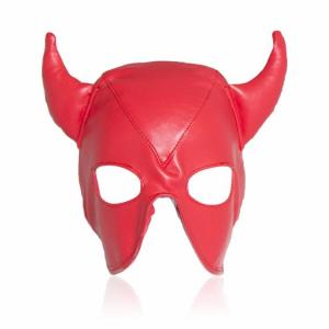 Wholesale Cheap Leather Head Mask Full Head Paintball Mask