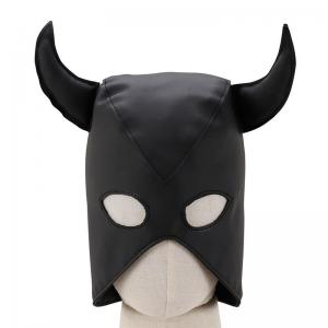 Leather Bull Head gear Sex head gear Bondage gear For Half Face Sexy Gorgeous H
