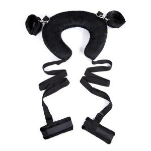 Top quality Soft Adjustable Handcuffs ankle cuffs And Shackle Bondage Kit With sex