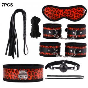 Leopard Adult Products Bright Leather Sex Set Plush Alternative Toy for Female R