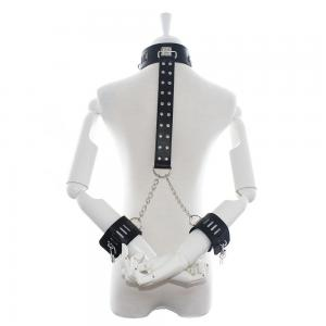 Bdsm Product Sex Collars For Women With Cuffs For Women Bondage Collar