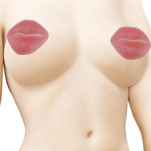 Lip Shaped Silicone Nipple Covers For Sexy Show