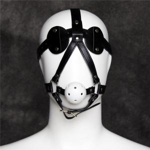 Adults Game Bondage Harness Gag Eye Mask Blindfold Eye Shade Re