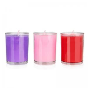 Low Temperature Wax Large Dimension Candle for Couple S