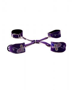 Top Quality Cross Bondage Handcuffs & Ankle Restraint For W